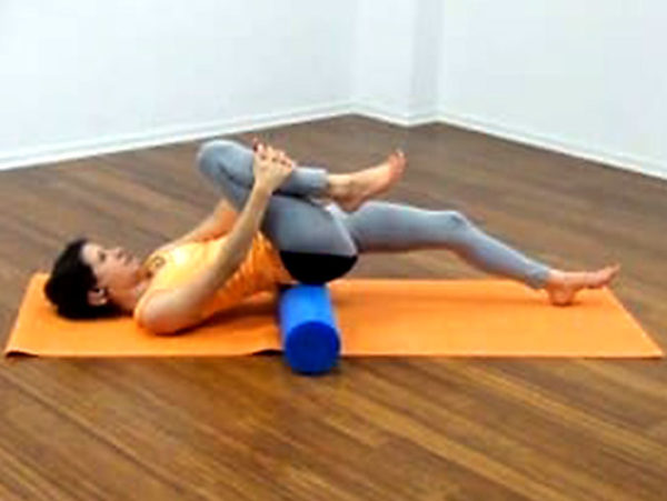 Stretching Pilates Rolle